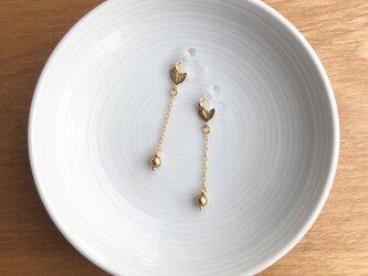 leaf earring/pierceの画像