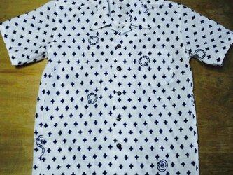 5【受注生産B】浴衣リメイクアロハシャツセミオーダーの画像