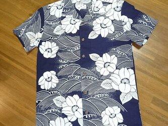 6【受注生産C】浴衣リメイクアロハシャツフルオーダーの画像