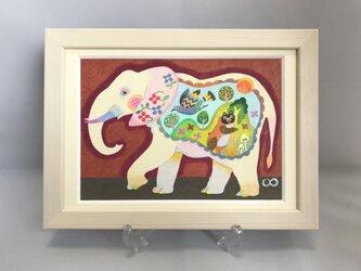 色鉛筆イラスト「ミミ」の画像