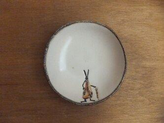 小皿№23 ウサギ(かさ)の画像