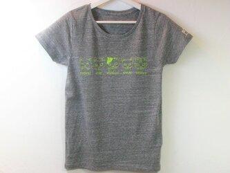 【M】猫ファイブ Tシャツ レディースの画像