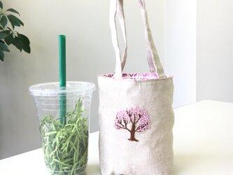 カフェバッグ  桜の木の画像