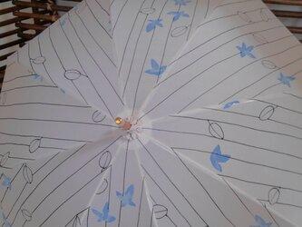 日傘 涼やかな絽からリメイクの画像