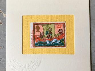 ちいさなartmuseum Scotland stamp  の画像