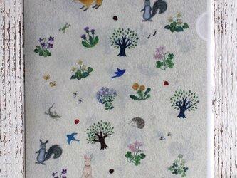 A4クリアファイル「野の花といきもの」の画像