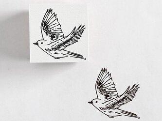 ラバースタンプ 鳥の画像