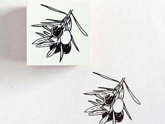 ラバースタンプ オリーブの画像