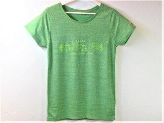 【M】ちょうちょ Tシャツ レディースの画像