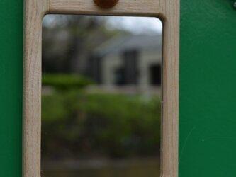 ■ 小さな鏡 (ドア用ミラー) ■ W88xD13(ハナ+9)xH138の画像