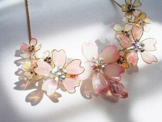 桜の小枝(ネックレス)の画像