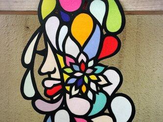花と水滴の画像