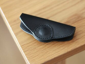 大人の革袋専用持ち手カバー・ ブラックの画像