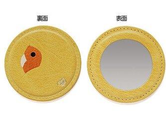 コザクララウンドミラー・イエロー×オレンジ[受注生産品]の画像