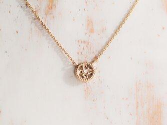【受注製作】プチリュミエール ネックレス diamond ダイヤモンド K10YGの画像