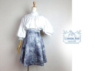 タック&フレアースカート ファンシーツイードの画像