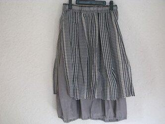 コットンシルクオーバースカート&コットンバルーンスカートの画像