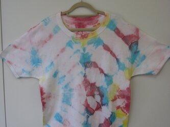 タイダイ染め 半袖Tシャツ②の画像