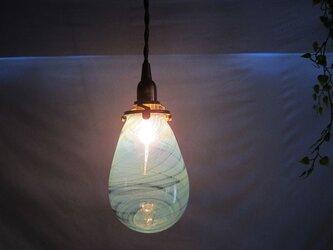 耐熱ガラスのランプシェード 12の画像
