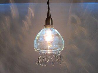 耐熱ガラスランプシェード くらげ~の画像