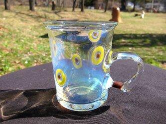 耐熱ガラスのマグカップ 3 の画像
