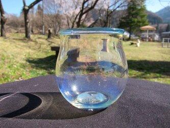 耐熱ガラスカップ4 ミルキーブルーの画像