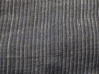 asa000601 縞紋様麻布 100cmカット売り 藍染☆古布古裂/木綿/筒描き/型染め/藍染/絹/ボロ襤褸の画像