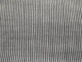 asa001502 縞紋様麻布 50cm 藍染☆古布古裂/木綿/筒描き/型染め/藍染/絹/ボロ襤褸の画像