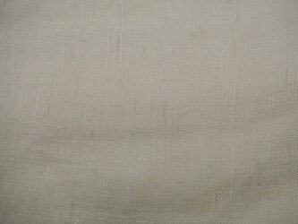 asa002202 白色麻布 50cm☆古布古裂/木綿/筒描き/型染め/藍染/絹/ボロ襤褸の画像