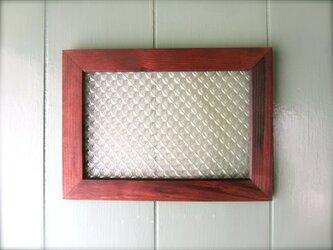 レトロ飾りガラス風 壁掛け  の画像