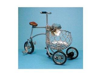 春の働く三輪・自転車 模型/桜1号の画像