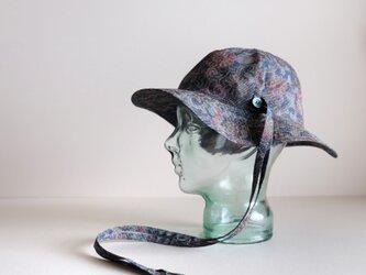 リボンと遊ぶ帽子 - 絹 花 -  <受注制作>の画像