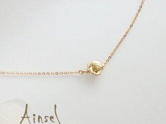 ビオラブレスレット(gold)の画像