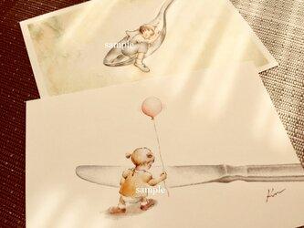 knife & spoon  ポストカードの画像