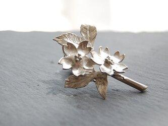桜のピンブローチ [SILVER950]の画像