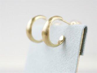 K18 Moonlight earringsの画像