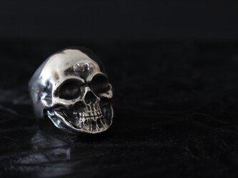【Einherjar エインヘルヤル No.1 フリーリングVer.】スカルリング/Silver925の画像