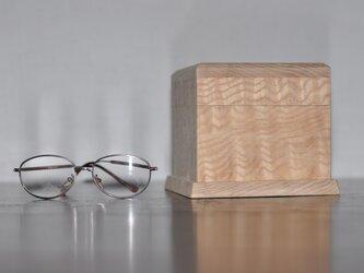 塩地ちじみ杢小箱の画像