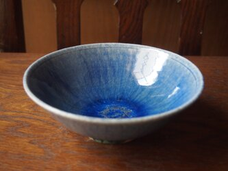 zao blue  平茶碗  夏茶碗 2の画像