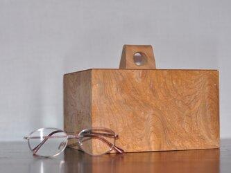 欅雲竜杢 手箱の画像