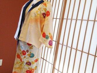 洗える着物でリメイクドレスの画像