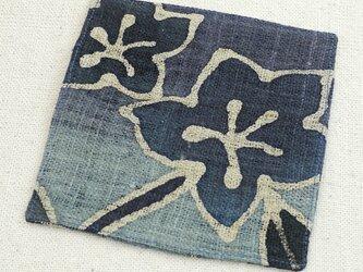 お敷き布【青い花ーB】の画像