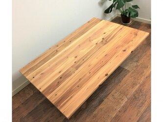【moto様オーダー品】天然木こたつ天板 60x120cm 杉の無垢材 交換用コタツ天板のみの画像