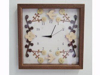 box clock ハナウタの画像