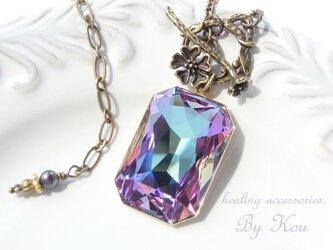 ✴Swarovski✴美しいオーロラ色ネックレス。の画像
