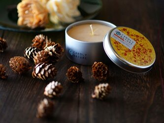 Natural Bees Wax Candleの画像