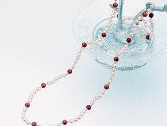 天然石ネックレス ~ライト・ネックレス~の画像