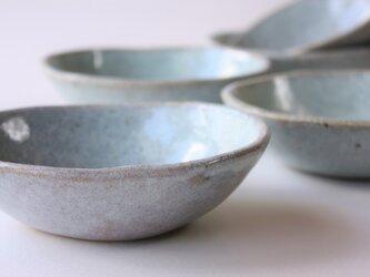 松灰釉オーバル小鉢の画像