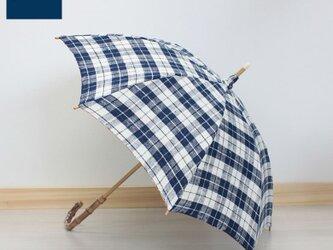 SHOKU 日傘(PR-ENR-20)持ち手竹の画像