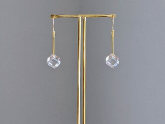 pendulum pierce/earring S【ガラスピアス】【ガラスイヤリング】の画像